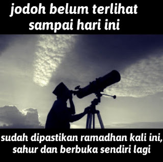 Foto lucu dan Gambar lucu DP BBM dan Meme Terbaru Jomblo Buka puasa lucu menyambut ramadhan