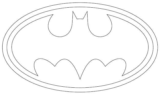 Batman Logo Coloring Pages Printables Batman Coloring Pages Big Throughout  Batman Logo Coloring Pages