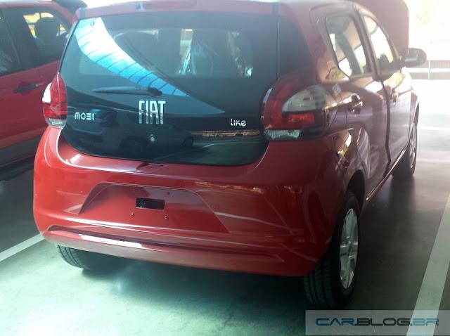 Fiat Mobi Like On