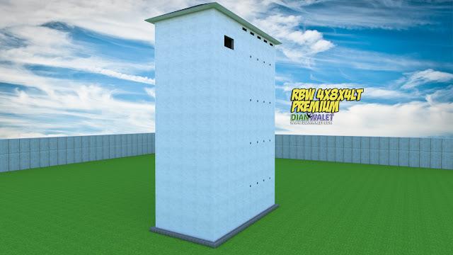 Desain Rumah Burung Walet 4X8 4 Tanpa Rumah Monyet