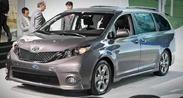 2016 Toyota Sienna Release Date Canada