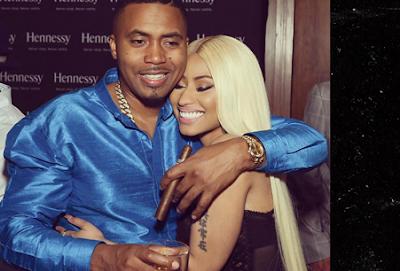 Video/Photos: Nicki Minaj & Nas's PDA At His 44th Birthday Bash