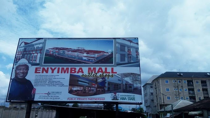 ENYIMBA MALL OUTLET IN THE SECOND TERM OF IKPEAZU'S ADMINISTRATION