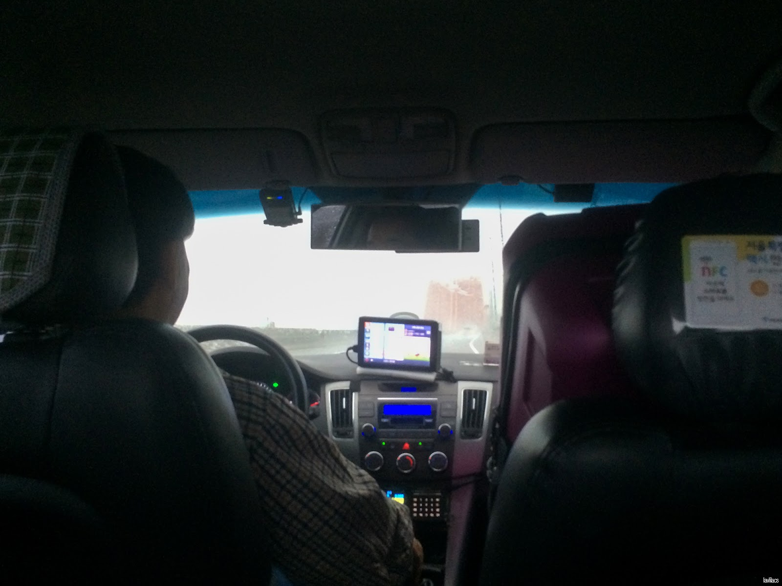 Seoul, Korea - Summer Study Abroad 2014 - Taxi ride to Incheon International Airport