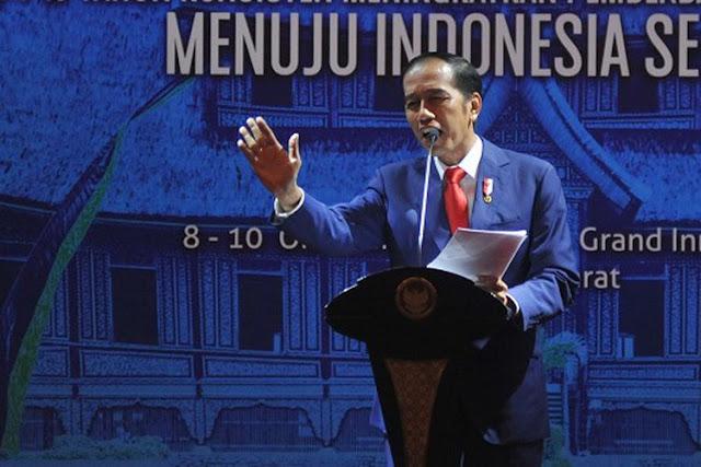 Jokowi: Bu Yohana Halus, Bu Susi Paling Galak