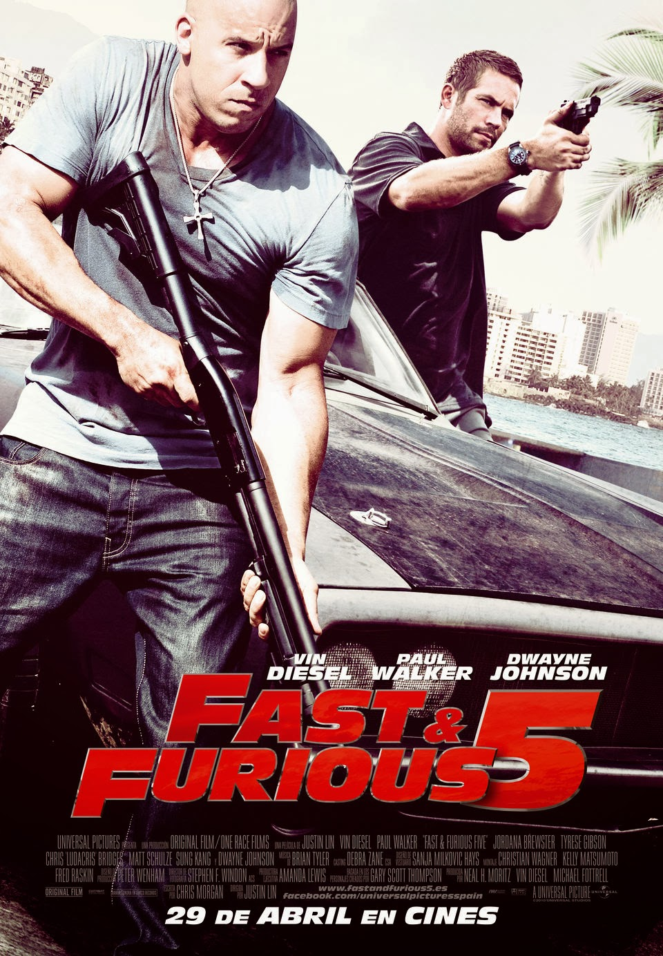 Cartel de Fast and Furious 5