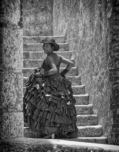 Jeune fille fêtant ses 15 ans - Santiago De Cuba