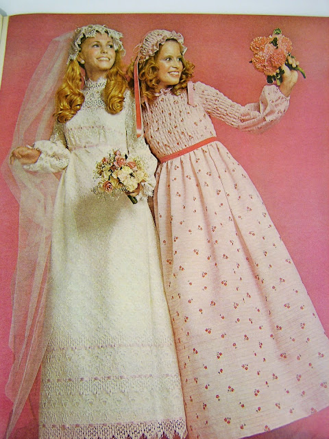 The Style Spectrum Modern Bride 1971 Vintage Wedding Fashion