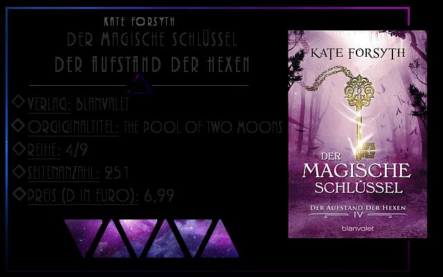 [Rezension] Der magische Schlüssel 04: Der Aufstand der Hexen - Kate Forsyth