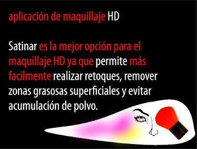 Tips maquillaje HD Visage