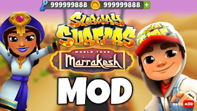 Subway Surfers Apk (MOD, Unlimited Coins/Key) free on android