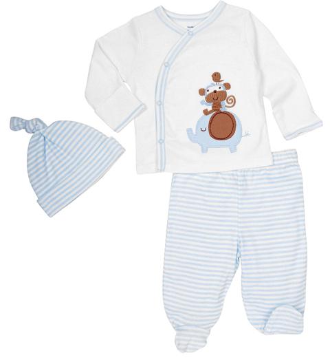model baju bayi laki-laki baru lahir