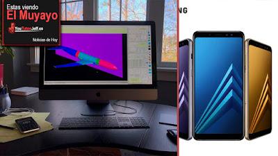 Galaxy A8, iMac Pro, Adblocker de chrome, Sets, Regalos navidad