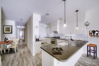 cucina con home staging virtuale immagine