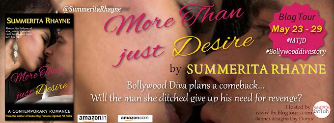 Blog Tour: More Than Just Desire by Summerita Rhayne
