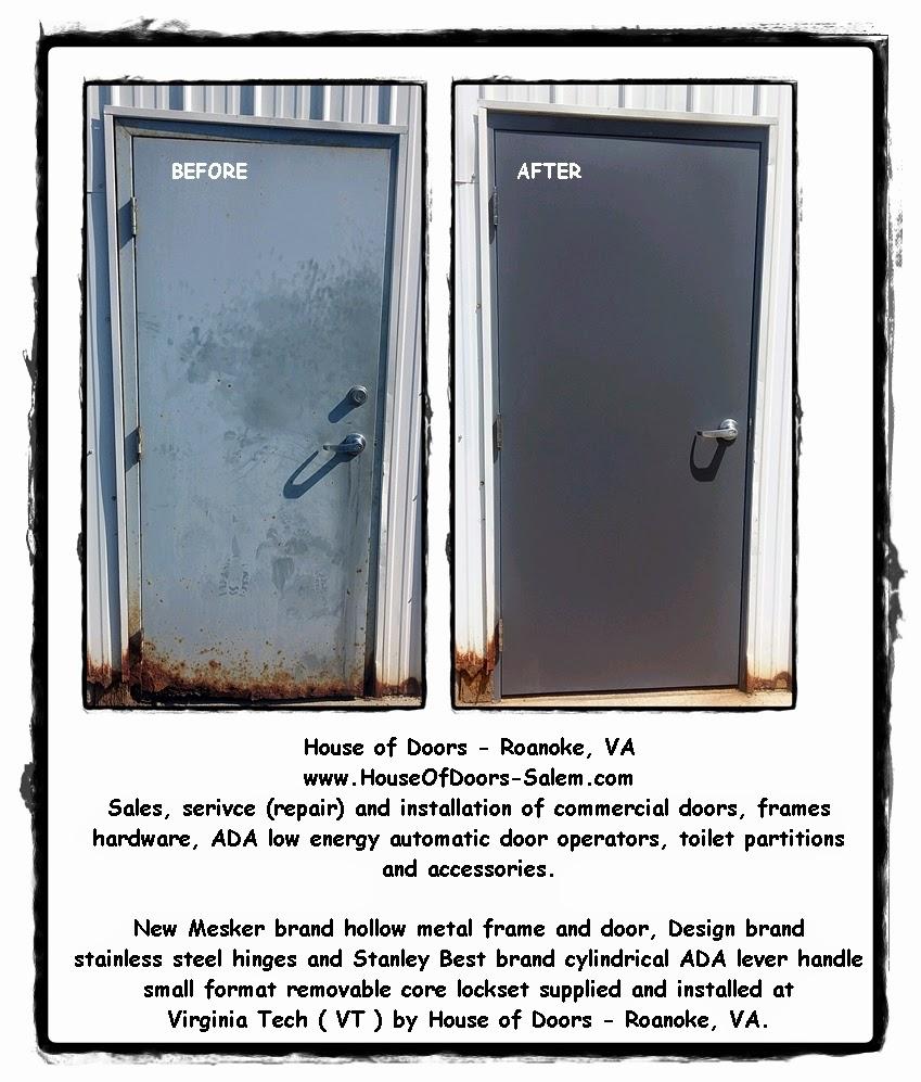 House of Doors - Roanoke VA  sc 1 st  Roanoke VA & Before and After - House of Doors - Roanoke VA @ Virginia Tech