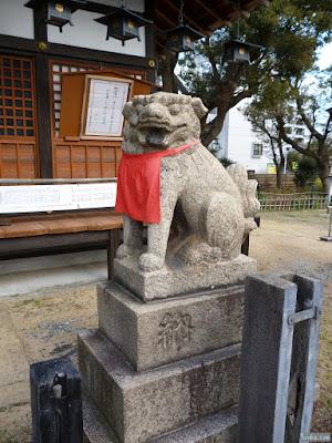 蒲田神社狛犬