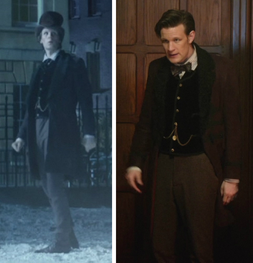 11th Doctor  Snowmen  costume  sc 1 st  Doctor Who Costume Guide & Doctor Who Costume Guide: 11th Doctor Snowmen analysis - appearances