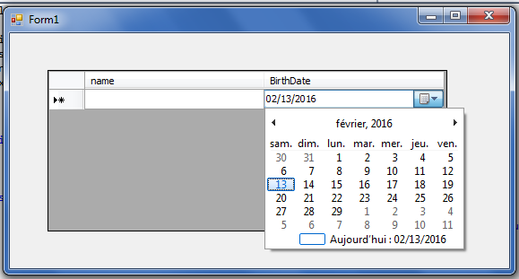 Add DateTimePicker in Datagridview in C# - C# Tutorials