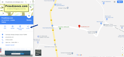 Add Google Maps in Blogger