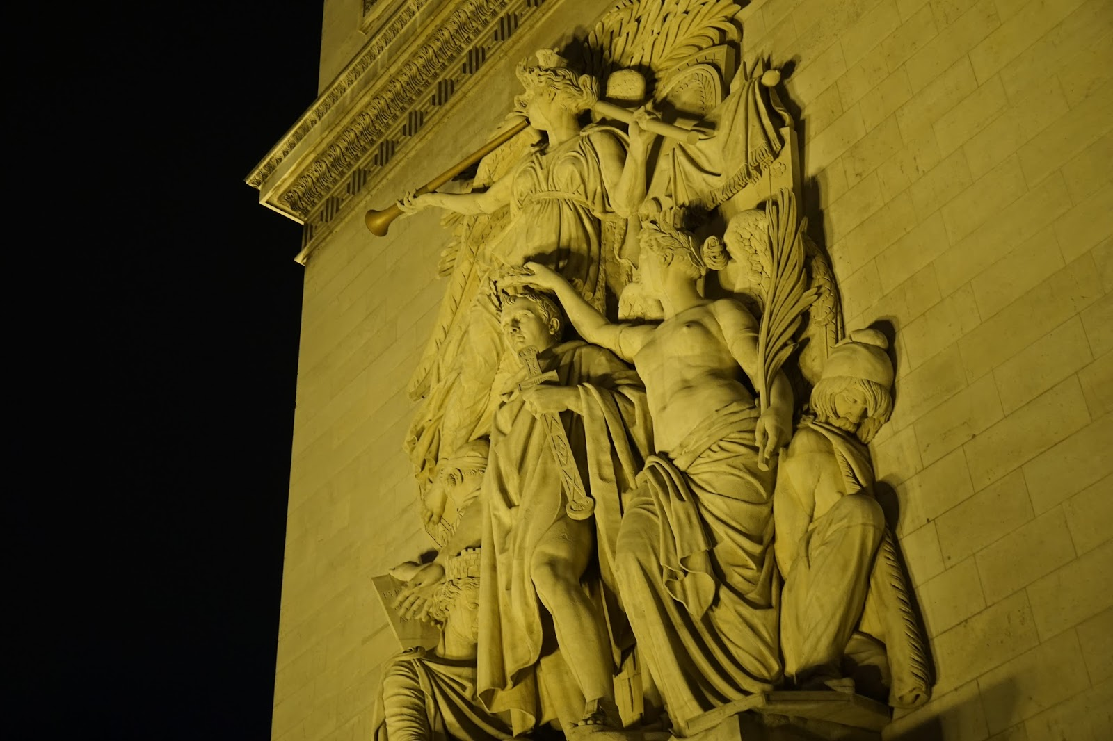 エトワールの凱旋門(Arc de triomphe de l'Étoile) 『1810年勝利』(Le Triomphe, 1810.)