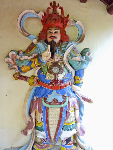 Guardianes de la Pagoda Thien Mu, Hué