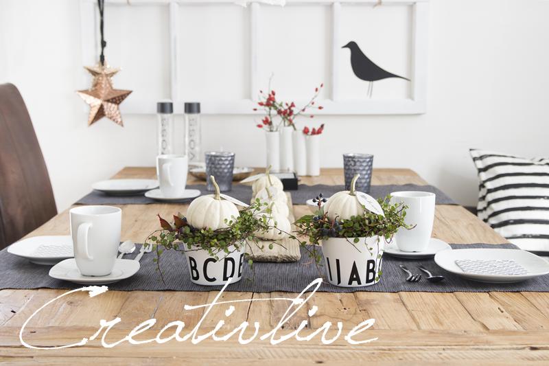 bloggertreffen und tischdeko creativlive. Black Bedroom Furniture Sets. Home Design Ideas