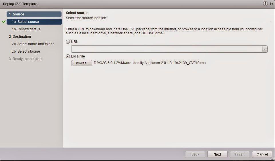 vCloud Automation Center (vCAC 6 0) Installation Part 3