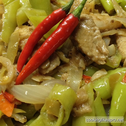 Cooking Bicol Express Recipe