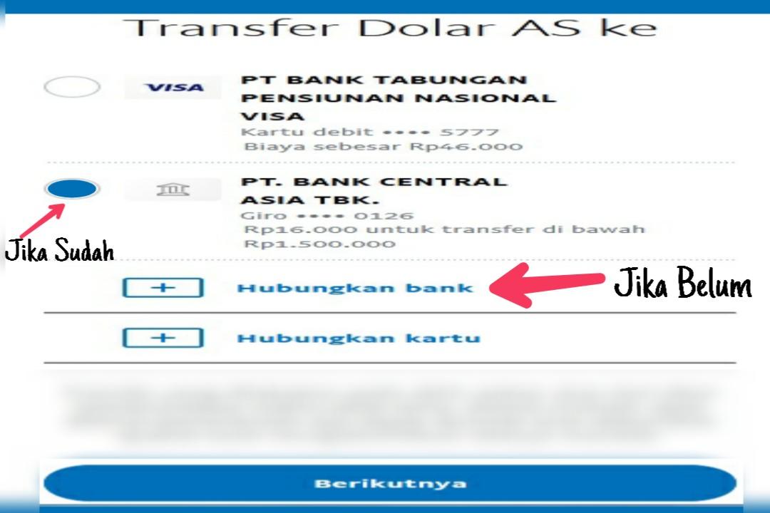 Cara Mencairkan Paypal Ke Rekening Bank BCA