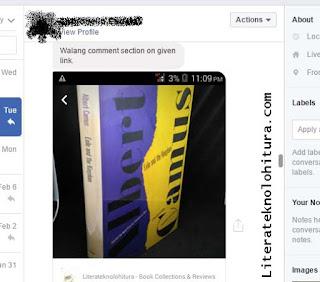 facebook shop don't show comment box