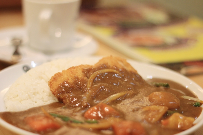 coco ichibanya curry chicken cutlet and vegetables rice | japobsganbare.blogspot.co.id
