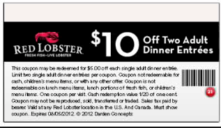 Red lobster printable coupons november 2016 printable coupon codes