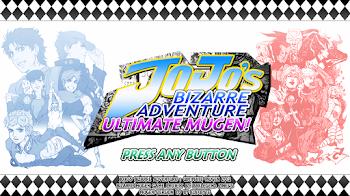 JoJos Bizarre Adventure Ultimate Mugen HD [PC] [M.U.G.E.N] (MEGA)