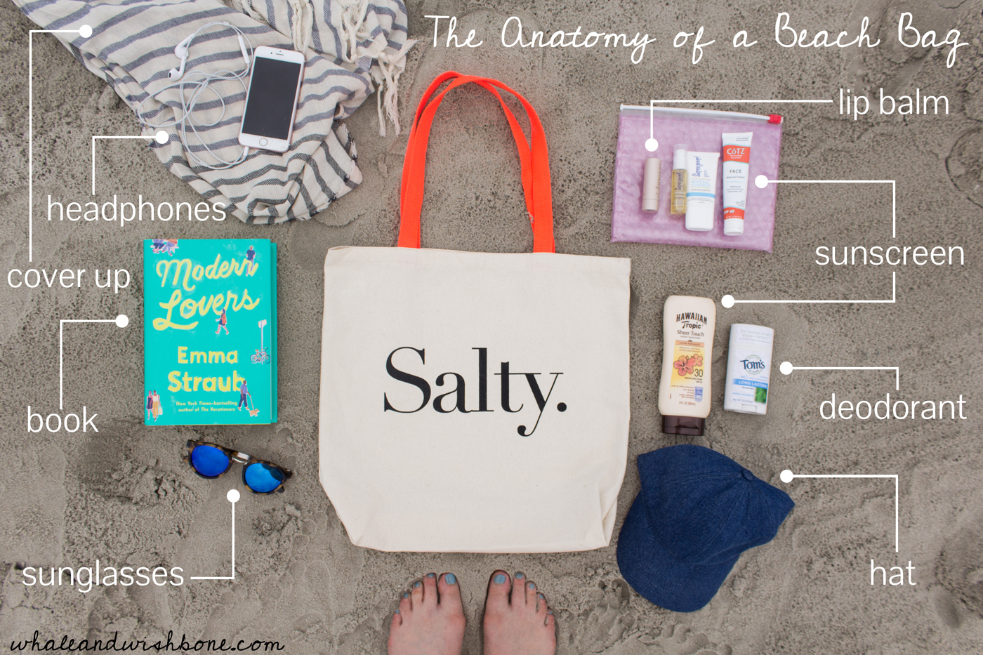 Whale and Wishbone: How to Pack the Perfect Beach Bag