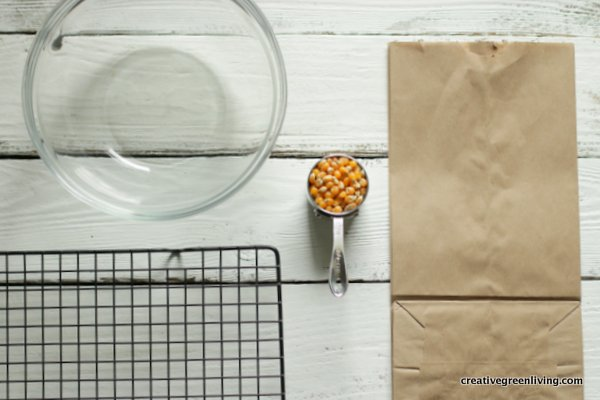 how to make homemade popcorn in the microwave - popcorn making supplies