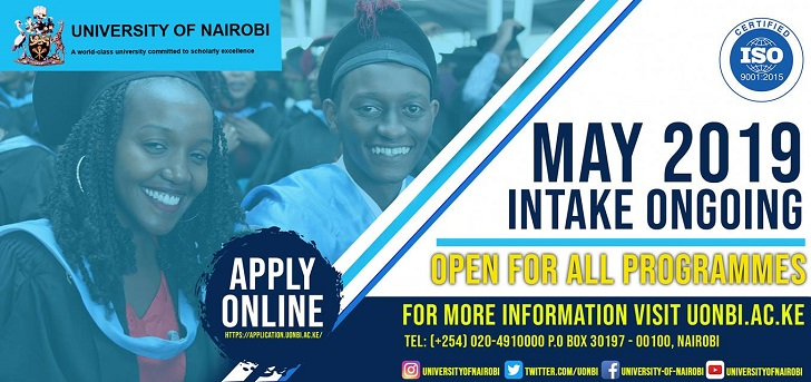 University of Nairobi May 2019 Intake.