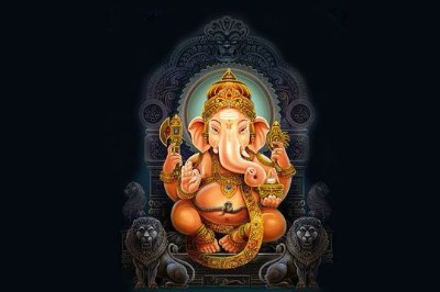 Hindu God mahodara ganesha avatar picture