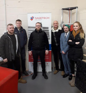 Students visit Spain to represent Sagetech Machinery
