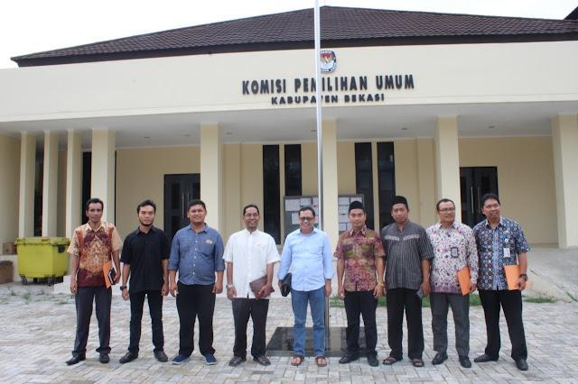 Ketua KPU Jabar Monitoring Logistik di Kabupaten Bekasi