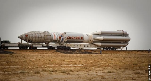 Mengintip Persiapan Peluncuran Pesawat Ruang Angkasa Rusia Di Baikonur