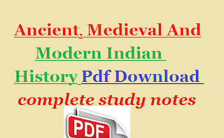 Ancient Medieval And Modern Indian History Mcq Pdf Download
