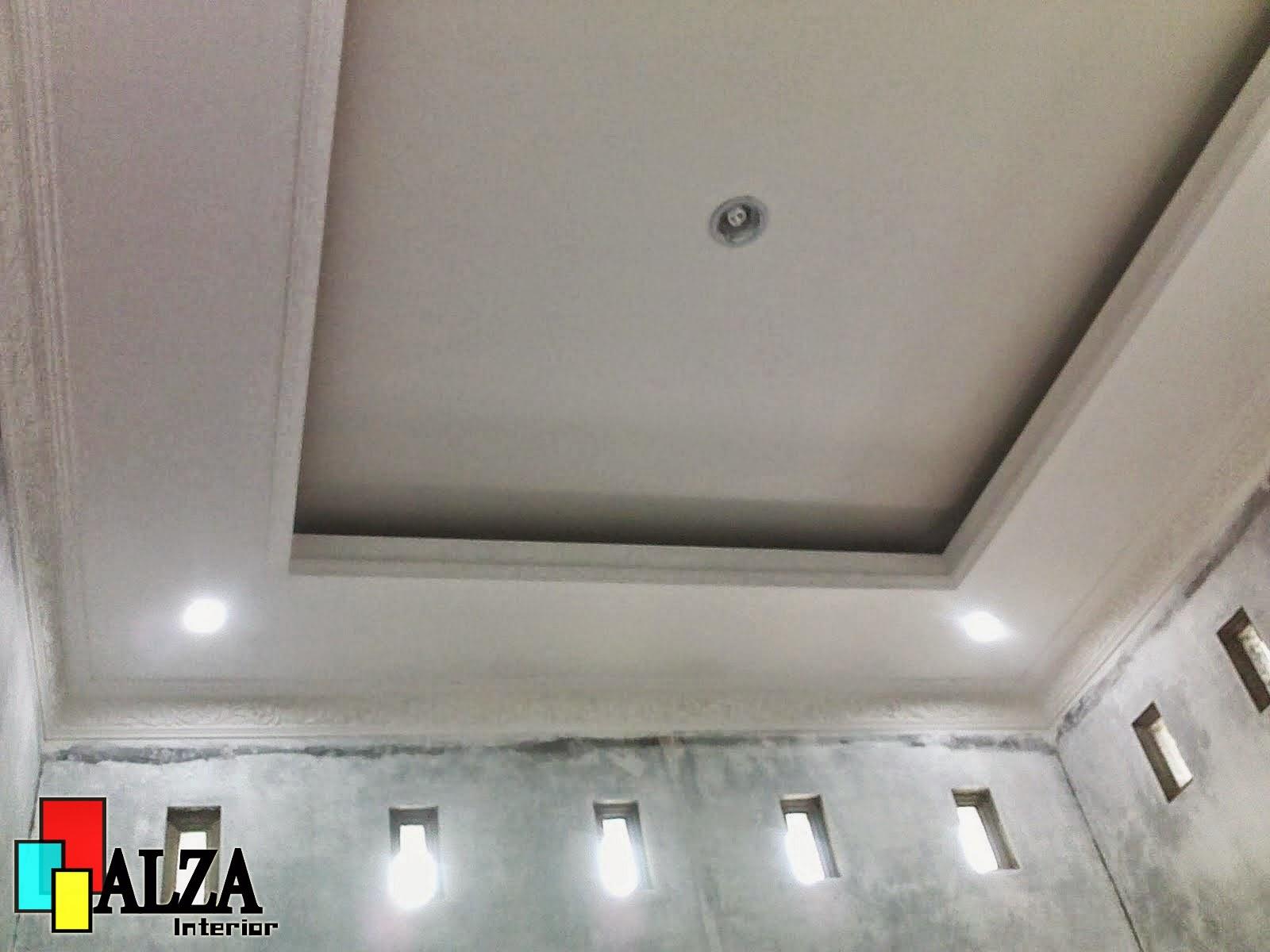 Jasa pasang plafon gypsum minimalis modern