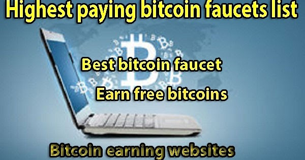Earn free bitcoin and free satoshi from best free bitcoin faucet ...