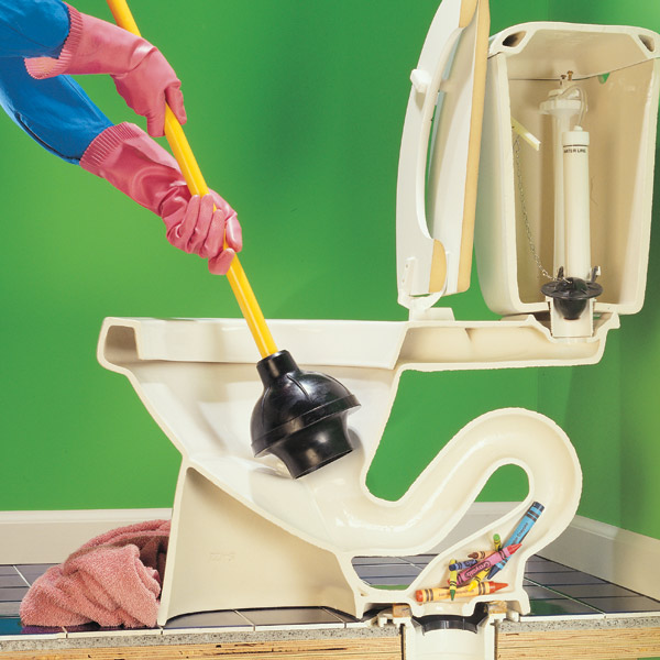 Best Product To Unclog Bathroom Sink: Dr House Cleaning: Clogged Toilet Fixing With Green Products