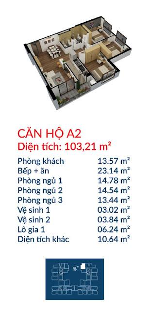 Căn hộ A2 Việt Đức Complex