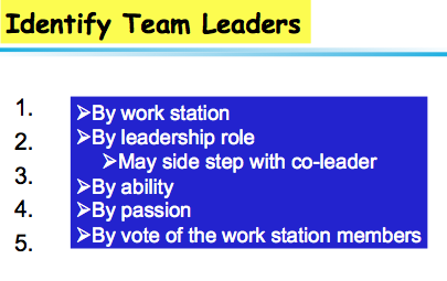 What Is the Role of a Team Leader?