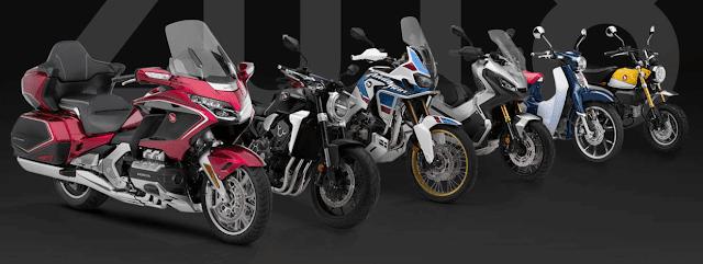 Konsep Sepeda Motor Honda Terbaru 2018
