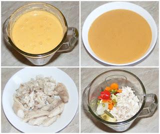 retete culinare de mancare pentru bebelusi, supa crema de peste cu legume, retete de peste, preparate din peste,