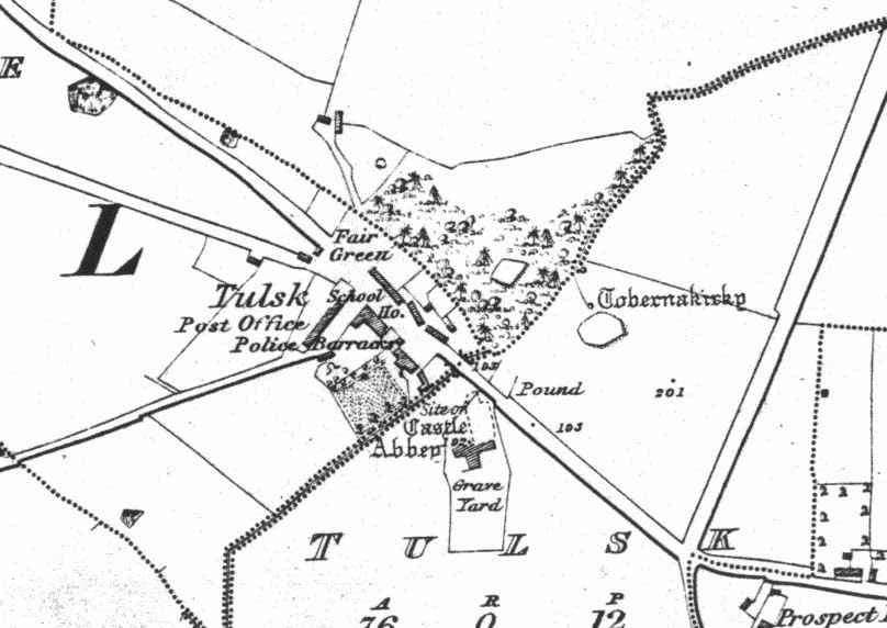 Rathcroghan Visitor Centre, Cruachan Aí: Medieval Tulsk